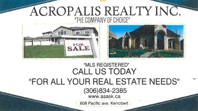 cropalis Realty Business Card